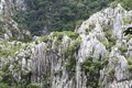Image of ancient limestone hills Stock Image