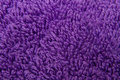 A image background purple towel texture close up Royalty Free Stock Images