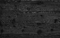 Image of black bumpy wooden table top background Royalty Free Stock Photo