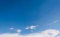 Image of blue sky on day time for background Royalty Free Stock Photography