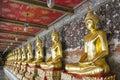 Image of buddha at wat suthat thepwararam ratchaworamahawihan Stock Image