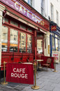 Image cafe rouge restaurant park street bristol england cafã  rouge french styled restaurant chain over sites across uk image Royalty Free Stock Photography