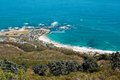 Image of Clifton Beach from Lions Head Royalty Free Stock Photo