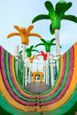 Image colorful playground equipment Stock Photo