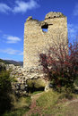 Image of coltesti fortress tower built in the th century in t transylvania romania Royalty Free Stock Photography