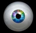 Image of digital eye ball Stock Images