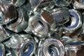 The image of female screws closeup Royalty Free Stock Photo