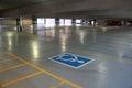 Indoor Handicap Parking