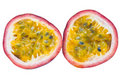 Image of Isolated passionfruit Stock Photography