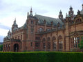Image of kelvingrove museum and gallery in glasgow Royalty Free Stock Images