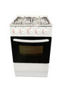 Image of modern gas stove Royalty Free Stock Photo