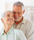 Image of an old retired couple Royalty Free Stock Images