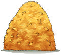 An image showing a haystack Royalty Free Stock Photo