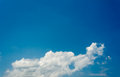 Image of sky on day time blue for background Stock Photography