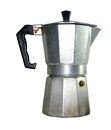 Image stock old coffe machine dusty from kitchen Stock Photo