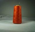 Image Stock Orange Thread With...