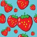 The image strawberry design