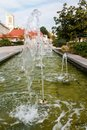 Fountain in Troyes