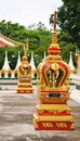 Image of thai temple Royalty Free Stock Photos