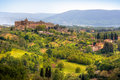 Image of typical tuscan landscape Royalty Free Stock Photo