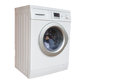 The image of washer isolated under white background Royalty Free Stock Image
