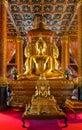 Imagem da buda na igreja do templo de wat phumin Imagens de Stock