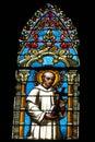 Imagen de una ventana de la iglesia Fotos de archivo libres de regalías