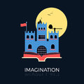 Imagination: fantasy castle