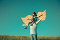 Imagination and freedom concept Royalty Free Stock Photo