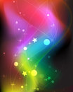 Imagination smoky rainbow background Royalty Free Stock Image
