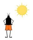 Imaginative insect illustration