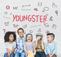 Imagine Kids Freedom Education Icon Concept Royalty Free Stock Photo