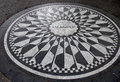 Imagine mosaic a tribute to sometime new york resident john len lennon in the park s strawberry fields central park city Stock Image
