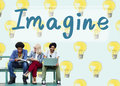 Imagine Vision Inspiration Creativity Dream Big Concept Royalty Free Stock Photo