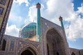 Imam mosque in isfahan iran Stock Photo