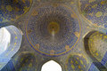 Imam mosque in isfahan iran Royalty Free Stock Images