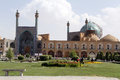Imam mosque on the naqsh e jahan square in esfahan iran Stock Photo