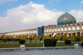 Imam square in isfahan iran Royalty Free Stock Photo