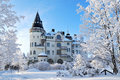 Imatra, Finland,  in winter Royalty Free Stock Photography