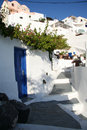 Imerovigli hotel santorini a in the village of in island of in greece Stock Photos