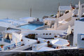 Imerovigli hotel santorini a in the village of in island of in greece Stock Photography