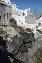 Imerovigli santorini the village of in island of in greece Stock Photos