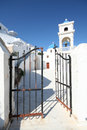Imerovigli santorini the village of in island of in greece Royalty Free Stock Photography