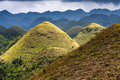 Img xs jpg chocolate hills bohol island philippines Royalty Free Stock Image