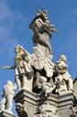 Sloup Panny Marie ve městě Banská Štiavnica