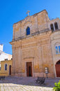 Immaculate church mottola puglia italy of Royalty Free Stock Photo