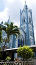 Immaculate Conception Cathedral in Puerto Princesa Stock Images