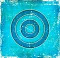 Immagine astratta blu del grunge Fotografie Stock Libere da Diritti