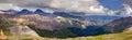 Imogene Pass Ouray Colorado Mountain Top Panoramic Royalty Free Stock Photo