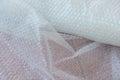 Impact of plastic wrap shockproof Stock Photo